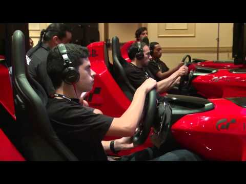 Nissan GT Academy Simulator Testing   AutoMotoTV