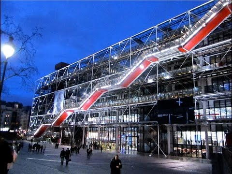 """The Georges Pompidou Centre"" ART,  Design & Revolution"