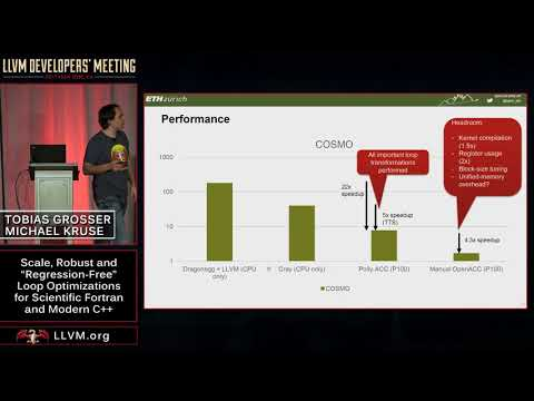 """2017 LLVM Developers' Meeting: """"Scale, Robust and Regression-Free Loop Optimizations for  ..."""""""