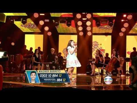 """Ana Beatriz Torres canta """"Fico assim sem você"""" no The Voice Kids - Shows ao Vivo Temp 1"""