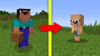 NOOB vs MINECRAFT - O BEBÊ NOOB!!