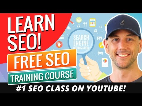 Learn SEO!  Free SEO Training Course Created In December And Updated For 2019!