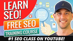 Learn SEO!  Free SEO Training Course Created In December 2017 And Updated For 2018