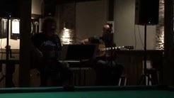 "-Osmos Cosmos (Duo/Jaska & Matti) performing at restaurant/bar ""Tuopin paikka"" in Savonlinna city i"