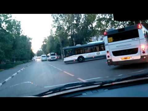 Автобусы в Химках снова создают затор.