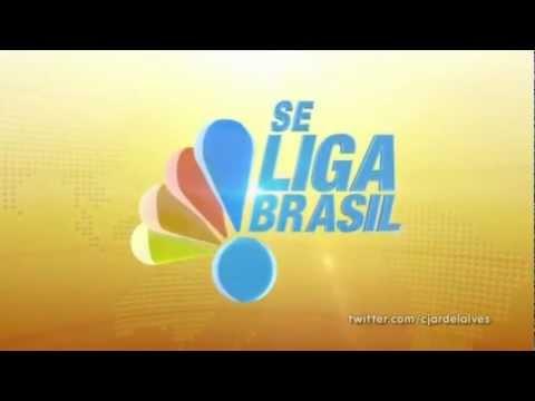 "Vinheta de abertura do ""Se Liga Brasil"" (2012/2013)"