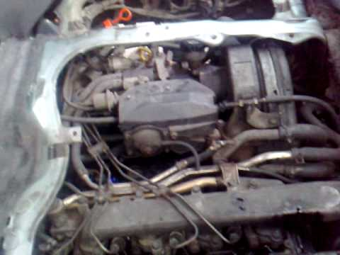 knocking noise of toyota lucida engine - YouTube