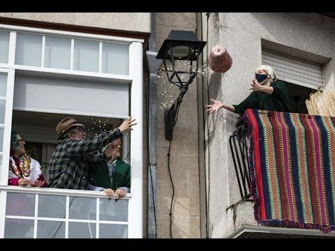 Xinzo celebra el Oleiro con los balcones como protagonistas