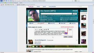 Como colocar musica no perfil do orkut pelo 4shared