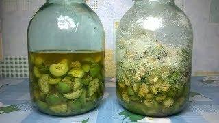 ★Зеленые грецкие орехи молочной спелости  очищают кровь и повышают иммунитет. Рецепт настойки Мочино