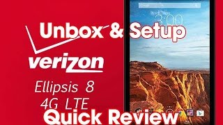 Ellipsis 8 unbox & setup, firt look & quick review
