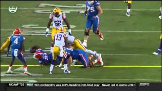 Florida vs LSU 2015 Full Game Highlights