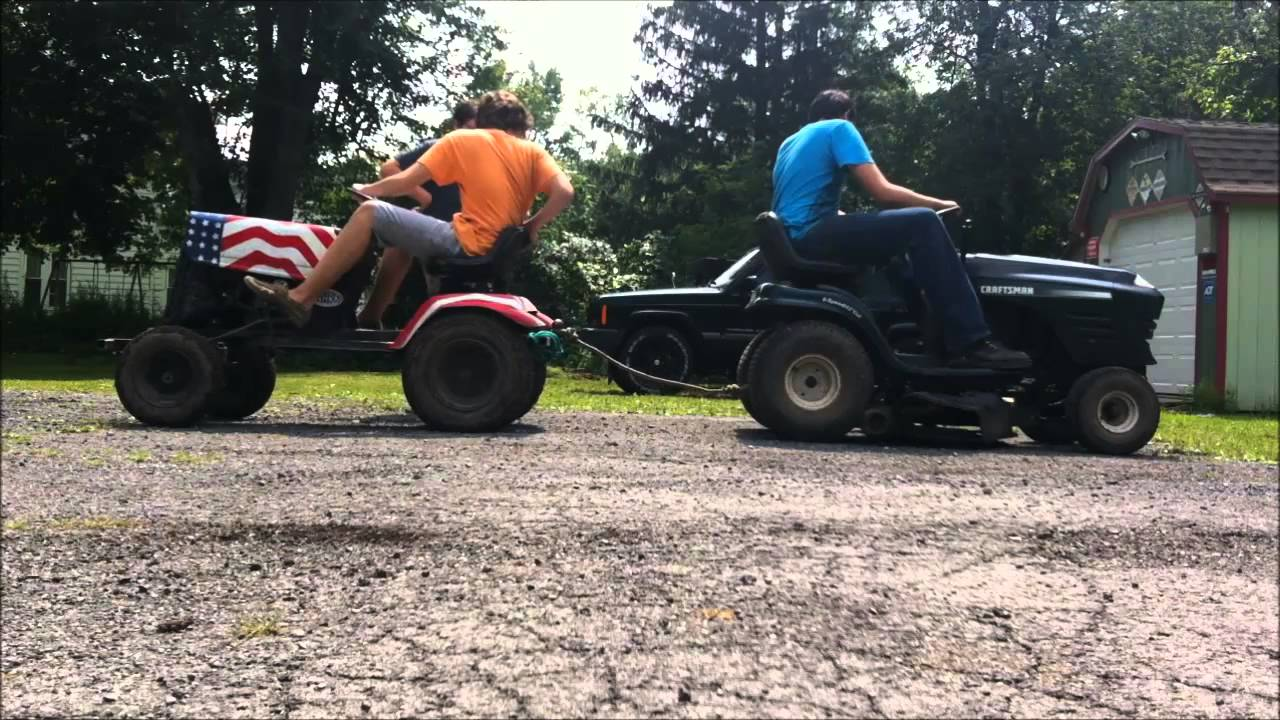 Mtd Mud Mower : Mtd offroad mower romp hill climbs pull offs and jumps