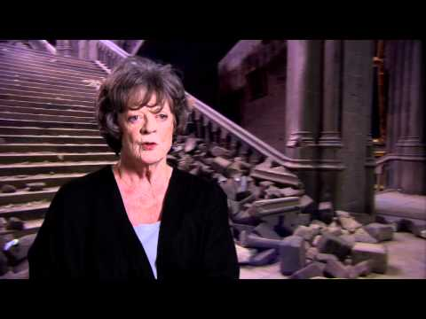 Maggie Smith 'Harry Potter and the Deathly Hallows Part 2' Interview