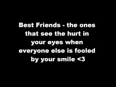 Best Friends Quotes - True Colours
