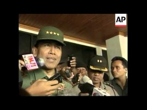 INDONESIA: GENERAL WIRANTO APOLOGISES  FOR VIOLENCE