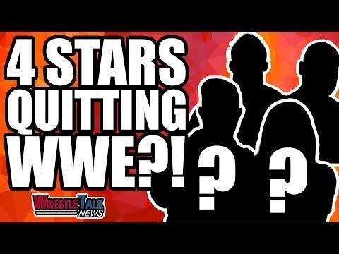Four WWE Stars QUITTING?! | WrestleTalk News Jan. 2019