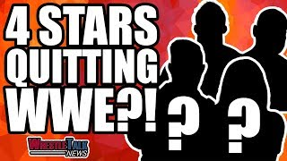 Four WWE Stars QUITTING?! | WrestleTalk News Jan. 2019