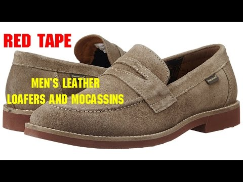 7433c40428 Redtape Men's Leather Loafers and Mocassins:Unboxing- | VR vloggers -  YouTube