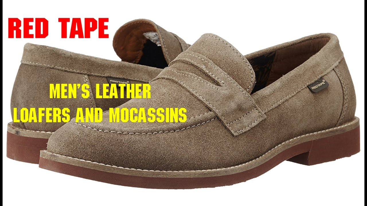 65681dfa49 Redtape Men's Leather Loafers and Mocassins:Unboxing- | VR vloggers ...