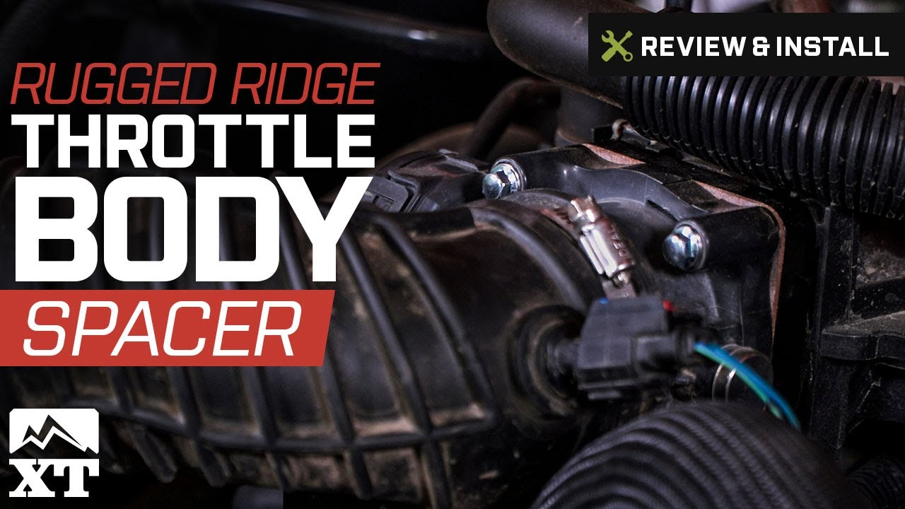 Rugged Ridge Throttle Body Spacer (07-11 3 8L Jeep Wrangler JK)
