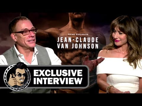 Jean-Claude Van Damme & Kat Foster JEAN-CLAUDE VAN JOHNSON Interview (2017) JoBlo