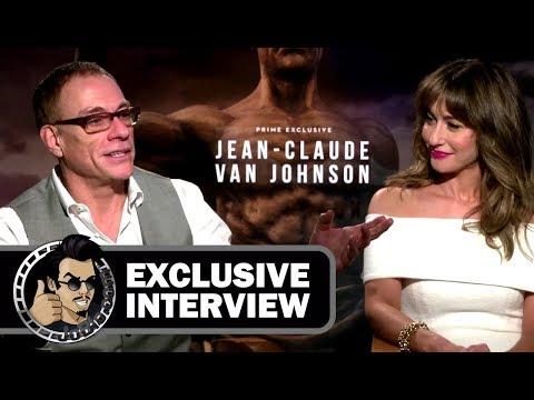 JeanClaude Van Damme & Kat Foster JEANCLAUDE VAN JOHNSON  2017 JoBlo