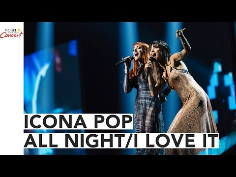 "ICONA POP - ""ALL NIGHT/I LOVE IT"" MEDLEY - The 2016 Nobel Peace Prize Concert"