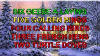 12 Days of Christmas Karaoke - Traditional Christmas Carols, Videos & Lyrics