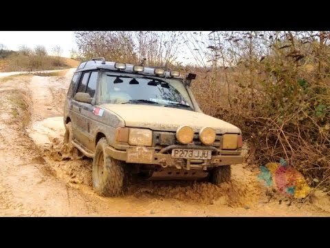 Off Road 4x4 @ Yarwell Quarry Pay & Play Day, Land Rover Discovery (5 Jan 2014)