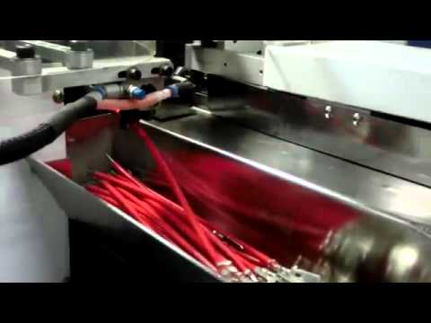 cable & wire processing machine - YouTube