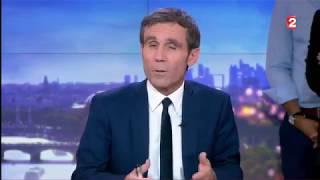 """Regardez les adieux de David Pujadas lors de son dernier """"20 heures"""" sur France 2"""