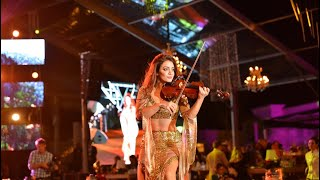 Amazing Arabic violin performance in Egypt by Hanine El Alam