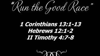 """September 21, 2014: """"Run the Good Race"""" Reverend Bradley C. Copeland"""