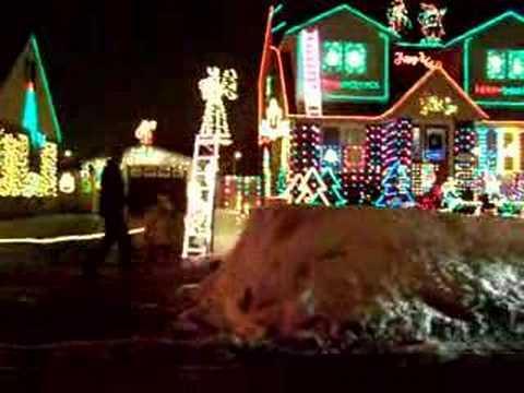 Christmas Drive By on Saskatoon St. in London, Ontario - YouTube