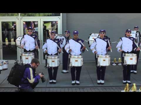 UW Husky Drumline Highlights - 9/27/2014 UW vs Stanford