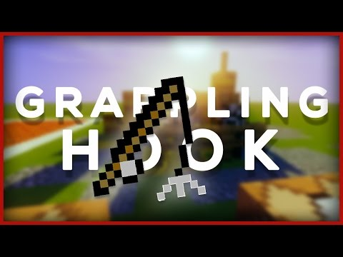Minecraft: How To Make A Working Grappling Hook!