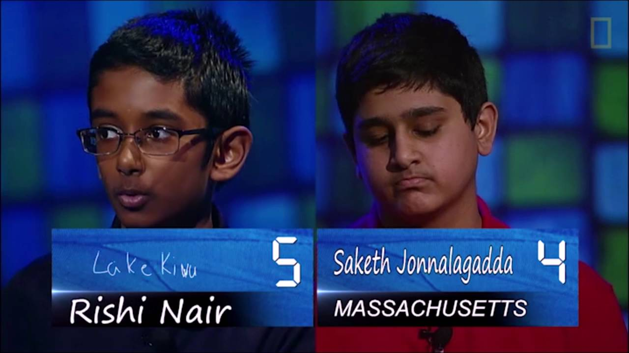 Final moments of the 2016 National Geographic Bee - YouTube