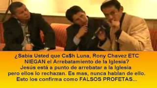CA$H LUNA NIEGA EL ARREBATAMIENTO - BOLAINEZ y DIAMOND LO DESENMASCARAN