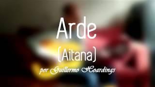 Arde (Aitana) - Karaoke, letra, acordes, guitarra
