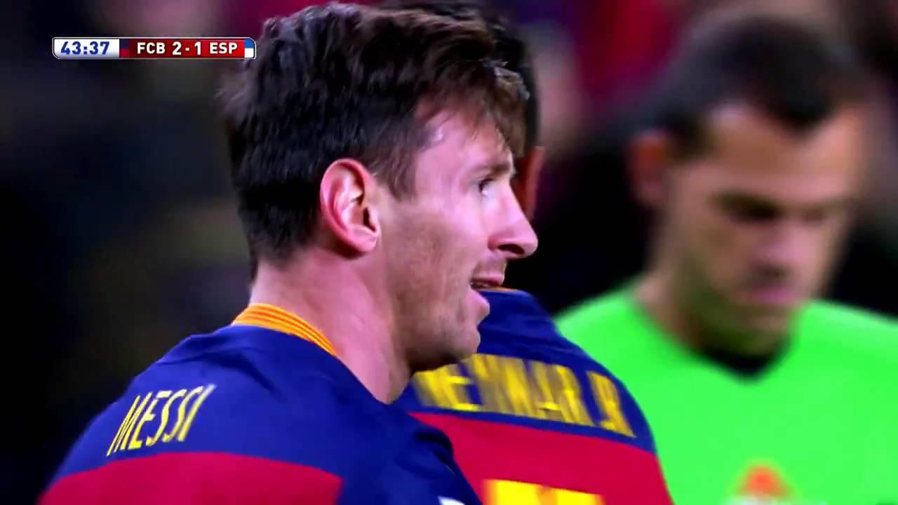 Download Lionel Messi vs Espanyol Barcelone (06/01/2016)