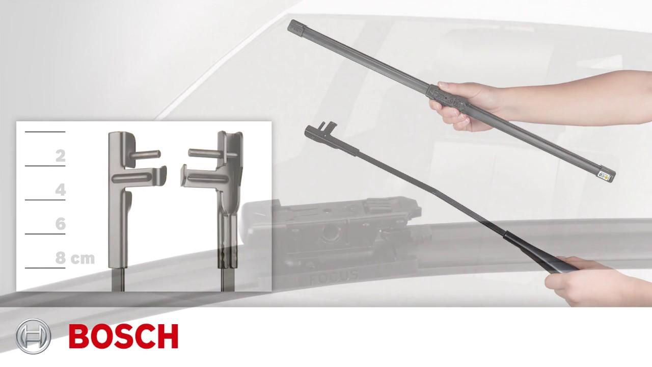 Bosch Focus Side Lock Installation Youtube Wiper Wiring Diagram