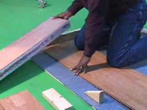 versalock ag laminate installation - youtube