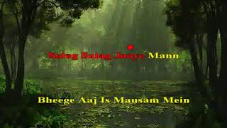 Rim jhim gire saawan Manzil 1979 Hindi Karaoke from Hyderabad Karaoke Club
