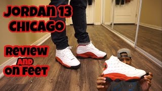 Jordan Chicago 13 w/ on Foot review!!