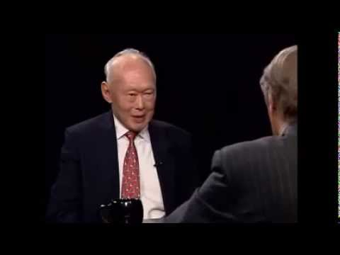 Charlie Rose interview with Lee Kuan Yew (Oct 2009)