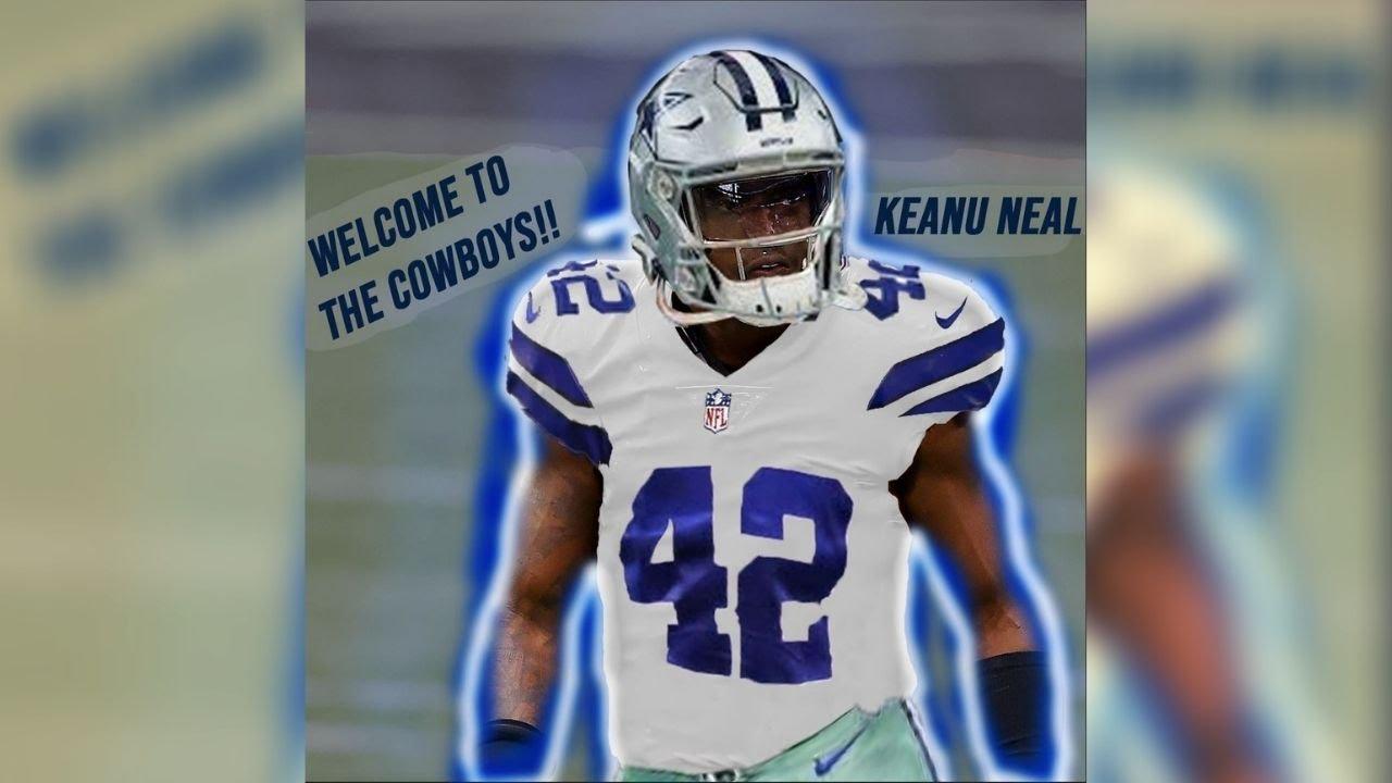 Keanu Neal Jersey Swap!