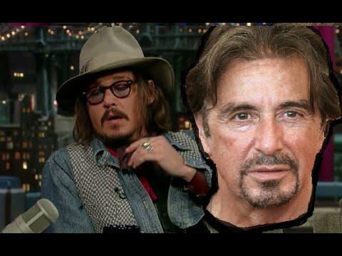 Johnny Depp e la barzelletta di Al Pacino - Letterman Show [SUB ITA]