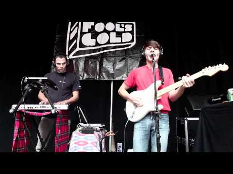 Party Supplies performing live at Fools Gold Day Off 2012