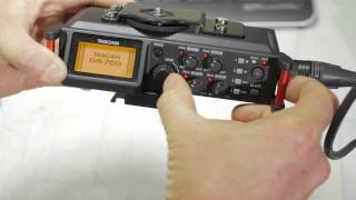 Tascam DR-70D Issue with Phantom Power